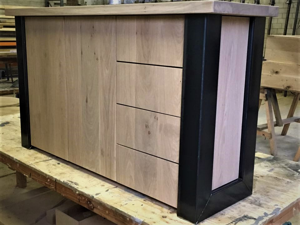 Dressoir in Industrieel design
